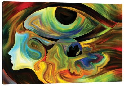 Intuition Canvas Art Print