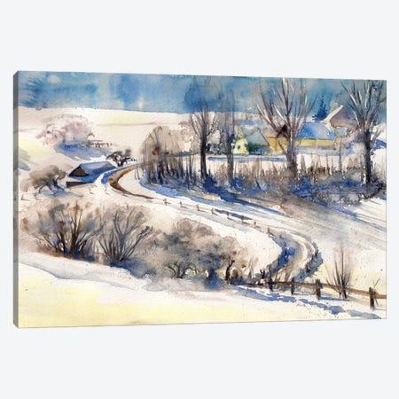 Lovely Landscape Canvas Print #DPT473} by DeepGreen Canvas Artwork