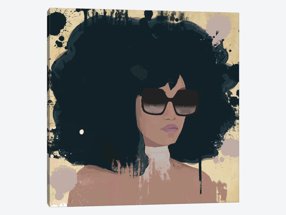 Woman With Sunglasses by Deeworxdesigns 1-piece Canvas Art Print