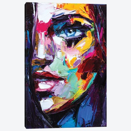 Emotion In Fauvism Canvas Print #DPT520} by LanaBrest Canvas Art