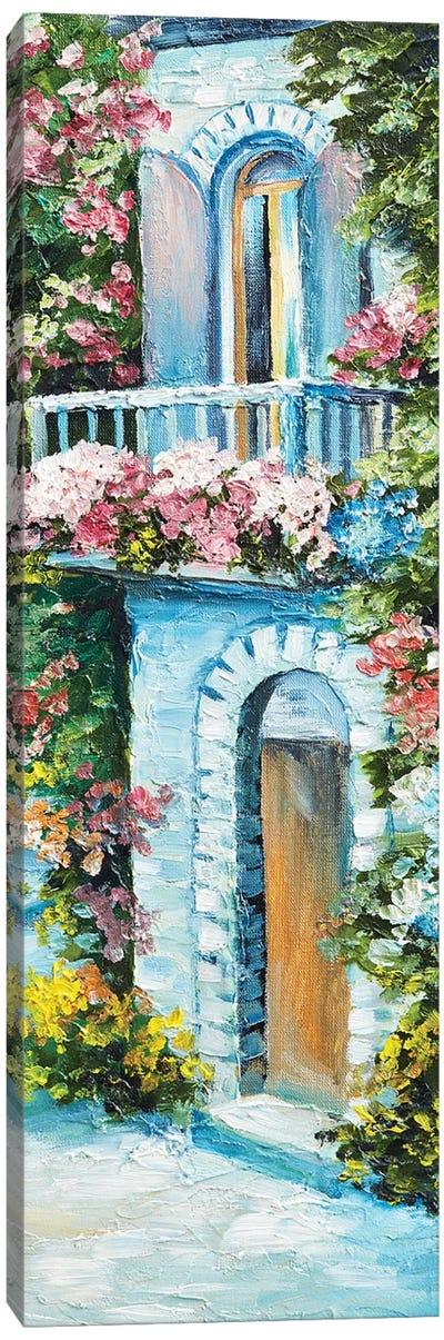 House Near The Sea Canvas Art Print