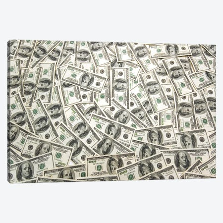 Lots Of Cash On The Table Canvas Print #DPT55} by Elnur Canvas Artwork