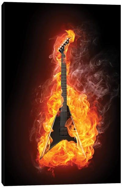 Electric Guitar II Canvas Art Print