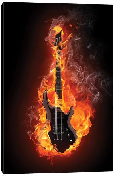Electric Guitar III Canvas Art Print