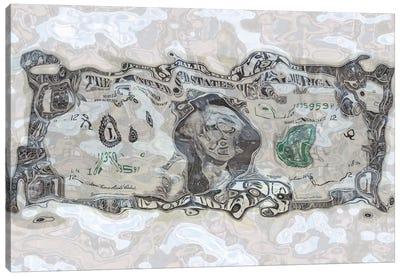 Sunken Dollar Canvas Art Print
