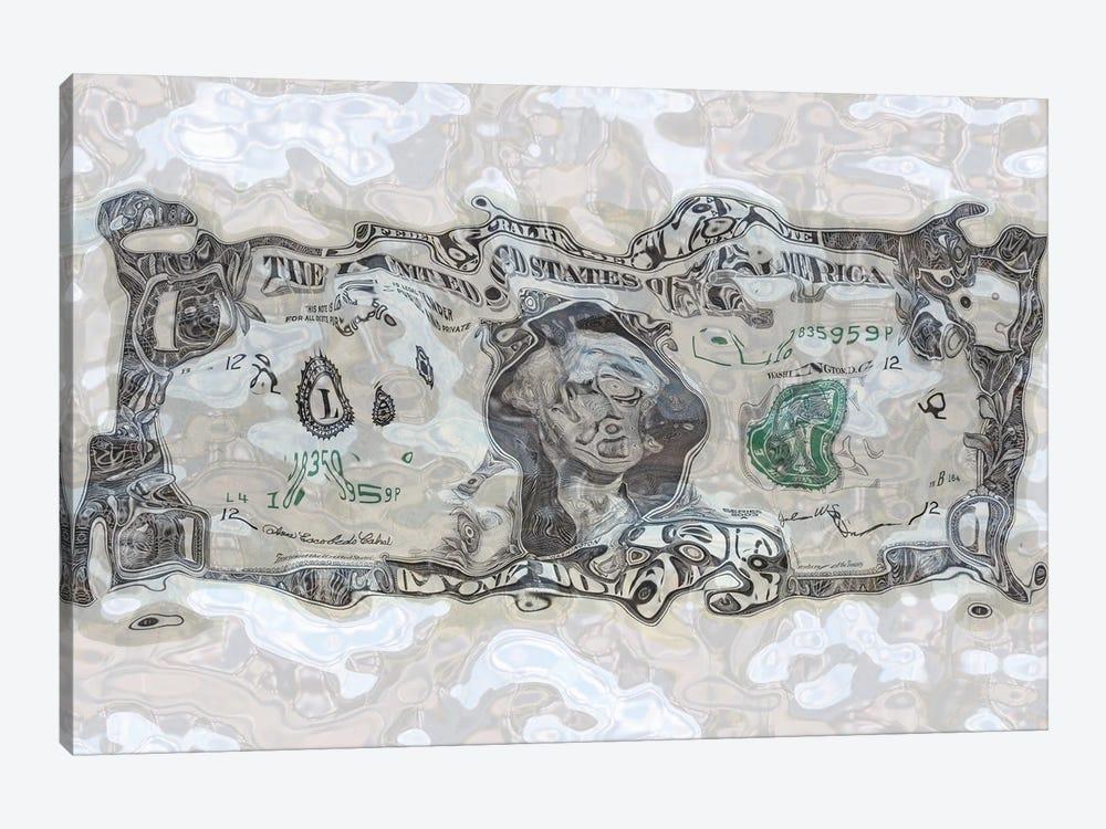 Sunken Dollar by georgios 1-piece Canvas Print