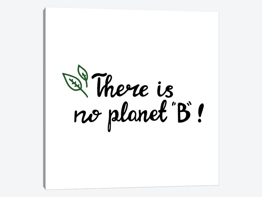 There Is No Planet B by Goarik-Anna 1-piece Canvas Wall Art