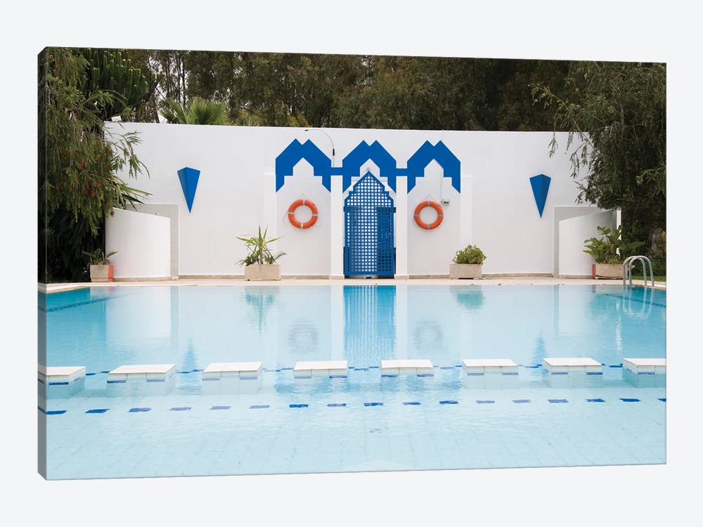 Swimming Pool In Fes, Morocco by jelen80 1-piece Canvas Print