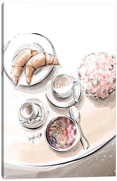 Dior Breakfast II Canvas Art Print