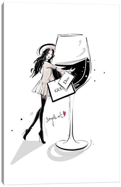 Wine Lover Canvas Art Print