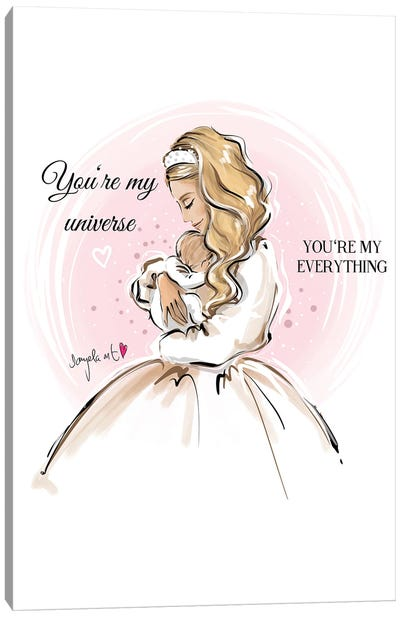 You're My Everything Canvas Art Print