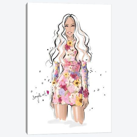 Pretty Blooming Canvas Print #DPV47} by Daniela Pavlíková Canvas Art Print