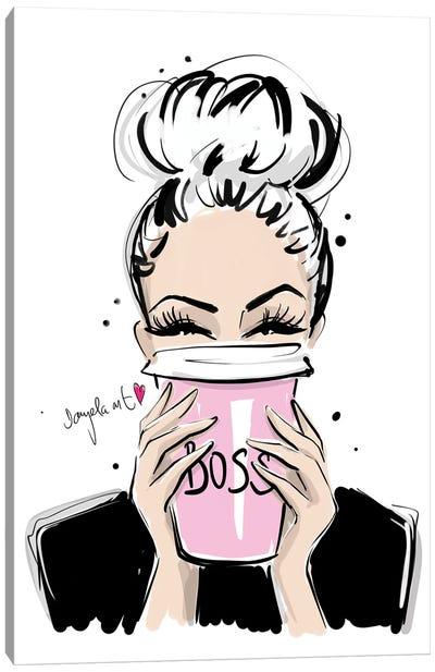 Boss Coffee Canvas Art Print