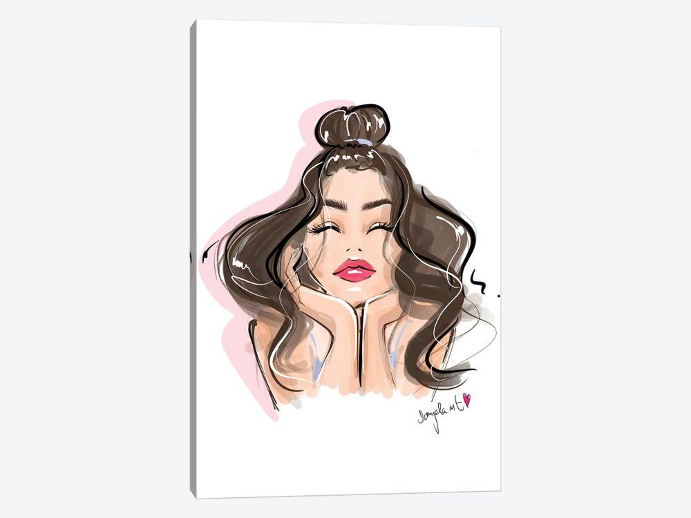 Brow On Point Babe by Daniela Pavlíková 1-piece Art Print