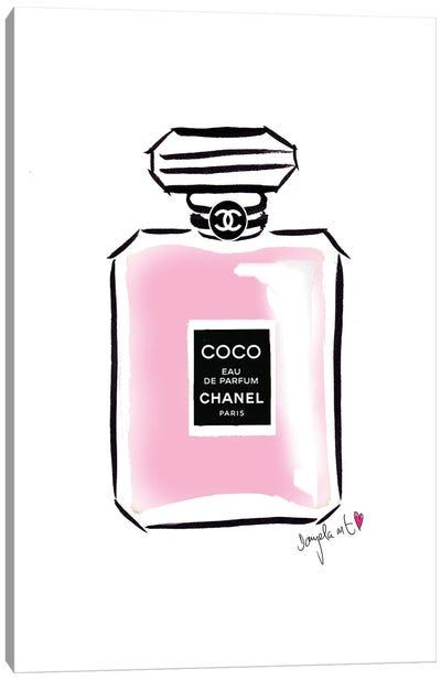 Coco Chanel Parfum Canvas Art Print