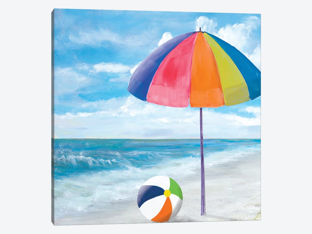 Fun Times I by Julie Derice 1-piece Canvas Artwork
