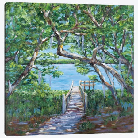Lake VIew Canvas Print #DRC118} by Julie Derice Art Print