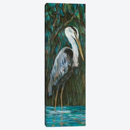 Majestic Heron Canvas Print #DRC119} by Julie Derice Canvas Art Print