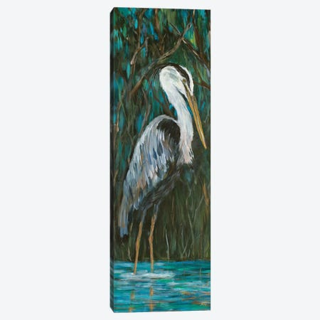 Majestic Heron Canvas Print #DRC119} by Julie Derice Canvas Art Print