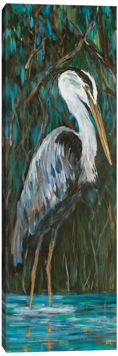 Majestic Heron Canvas Art Print
