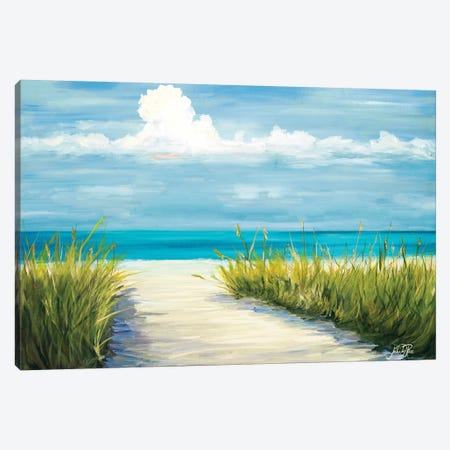 Beach Scene I Canvas Print #DRC11} by Julie Derice Canvas Art Print