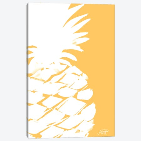 Modern Pineapple III Canvas Print #DRC123} by Julie Derice Canvas Artwork