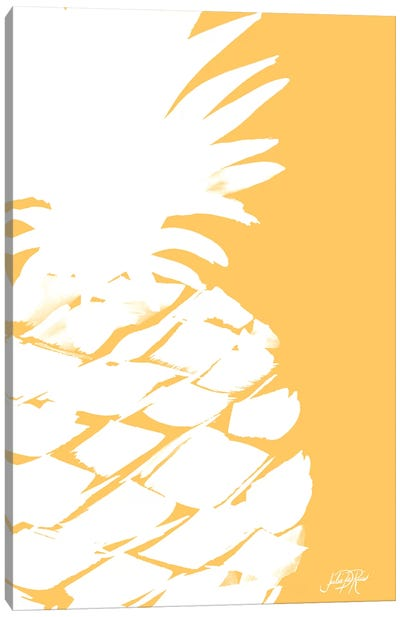 Modern Pineapple III Canvas Art Print