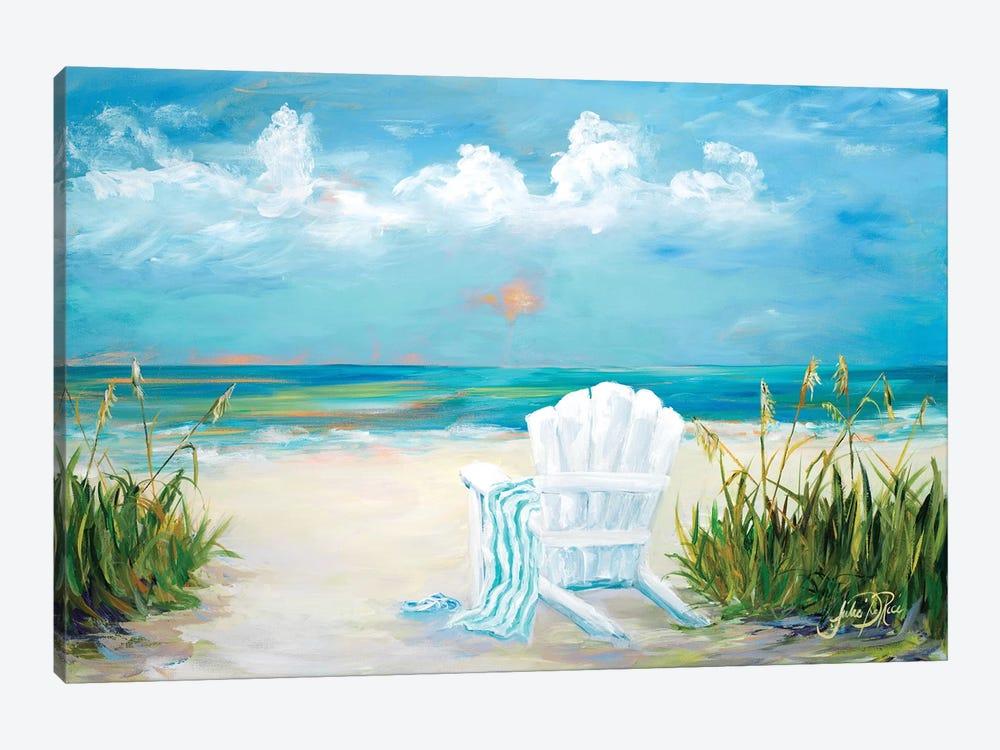 Beach Scene II by Julie Derice 1-piece Canvas Wall Art