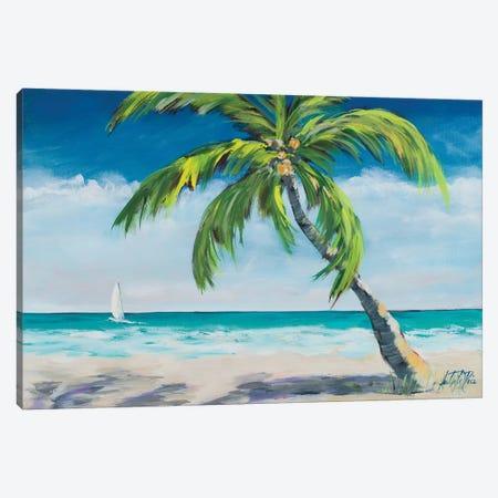 Ocean Breeze I Canvas Print #DRC132} by Julie Derice Canvas Print