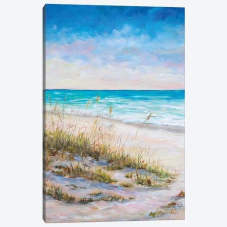 Ocean VIew Canvas Print #DRC134} by Julie Derice Canvas Art