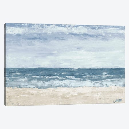 Oceans In The Mind Canvas Print #DRC135} by Julie Derice Canvas Wall Art