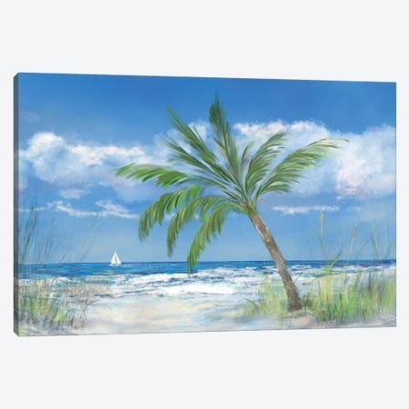Palm Tree Paradise Canvas Print #DRC138} by Julie Derice Canvas Art Print