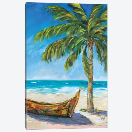 Paradise Trip Canvas Print #DRC139} by Julie Derice Canvas Art Print