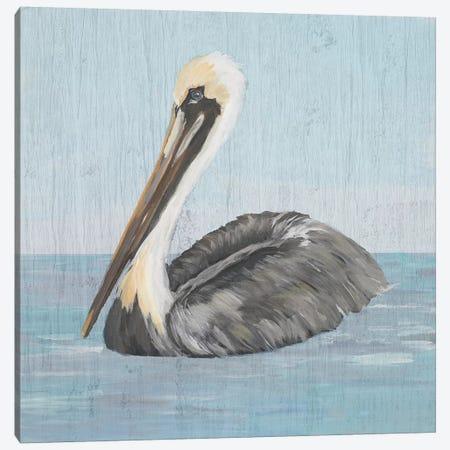 Pelican Wash I Canvas Print #DRC145} by Julie Derice Art Print