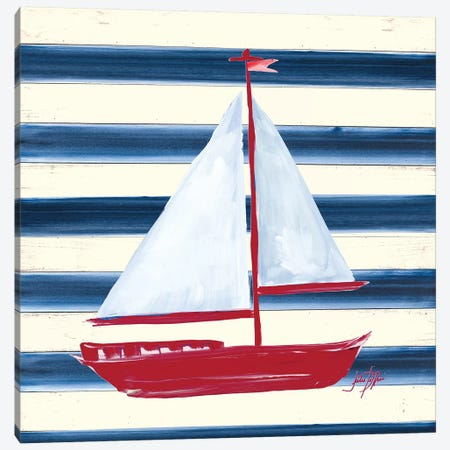 Sailor's Life IV Canvas Print #DRC151} by Julie Derice Canvas Art Print