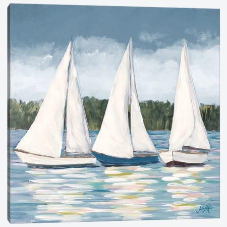 Soft Sail I Canvas Print #DRC158} by Julie Derice Art Print