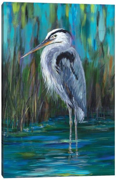 Standing Heron II Canvas Art Print