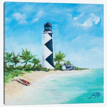 The Lighthouses IV Canvas Print #DRC174} by Julie Derice Canvas Artwork