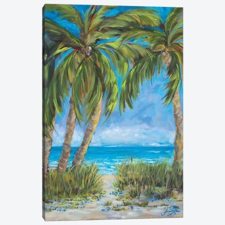 Tropical Paradise Canvas Print #DRC177} by Julie Derice Canvas Wall Art