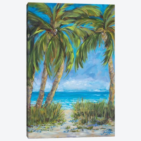 Tropical Paradise Canvas Print #DRC177} by Julie Derice Canvas Wall Art