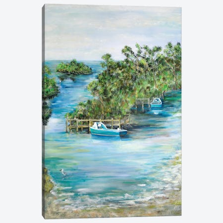 Florida Scene Canvas Print #DRC18} by Julie Derice Canvas Print