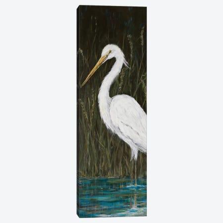 White Egret 3-Piece Canvas #DRC190} by Julie Derice Canvas Art Print