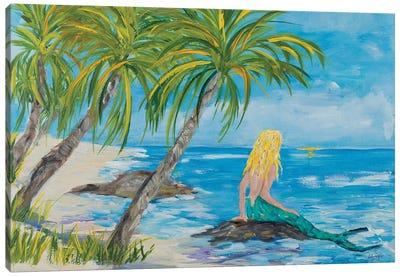 Mermaid Beach Canvas Art Print