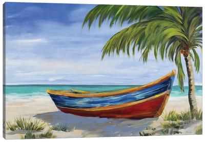 Run Ashore Canvas Art Print