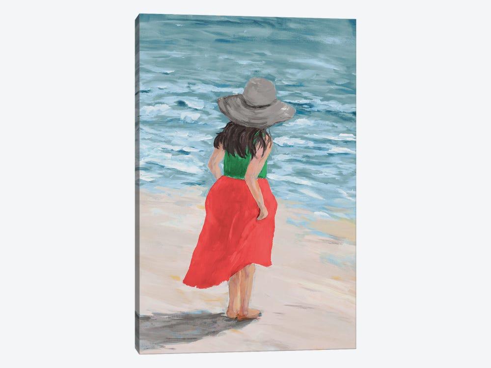 Along The Water by Julie Derice 1-piece Canvas Art Print
