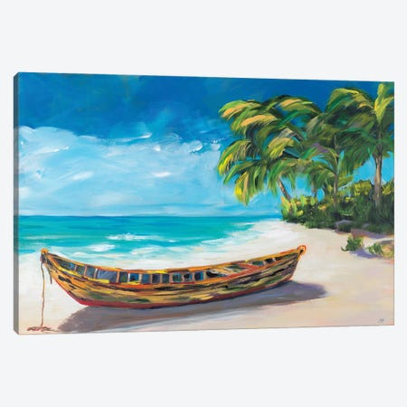 Lost Island I 3-Piece Canvas #DRC207} by Julie Derice Canvas Artwork