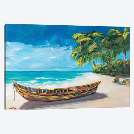 Lost Island I Canvas Print #DRC207} by Julie Derice Canvas Artwork