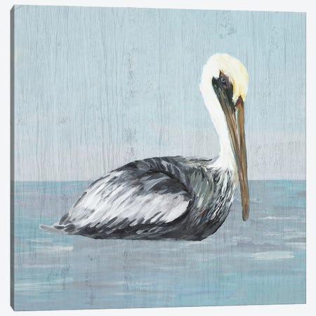 Pelican Wash III Canvas Print #DRC211} by Julie Derice Canvas Wall Art