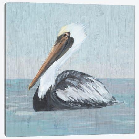 Pelican Wash IV Canvas Print #DRC212} by Julie Derice Canvas Artwork