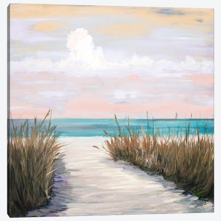 Sunset Walks Canvas Print #DRC219} by Julie Derice Canvas Art